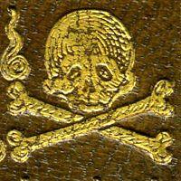 Reliure macabre d'Henri III - numelyo - bibliothèque numérique de Lyon