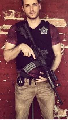 Jesse Lee Soffer -Chicago P.D. Oh my heavens!!! What a long way from As The World Turns!!! I think I only watch Chicago PD because of him!!!!!!