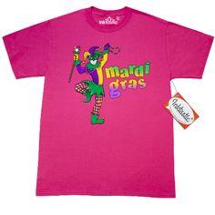 #Mardi #Gras #jester celebration T-Shirt.  www.inktastic.com