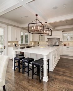"24.1k Likes, 163 Comments - Interior Design | Home Decor (@the_real_houses_of_ig) on Instagram: ""Because you can never go wrong with white cabinetry ... 