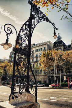 Street Lamps - Barcelona