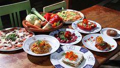 raw food food styling