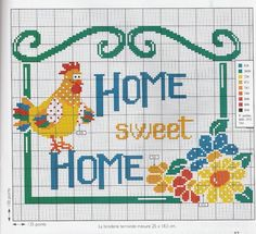 home sweet 01 - Point de croix - Blog : http://broderiemimie44.canalblog.com/