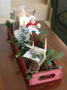 upstairs downstairs: Christmas Coffee Table