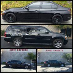 Window Tints Galore! Come down to get yours! #AudioExpertsVentura #AudioExperts #AudioVideo #CarStereo #StereosVentura #Ventura #VenturaCA #VenturaCalifornia #California #CustomAudio #WindowTint #BMW #BMW3Series #Chevy #ChevySuburban #Honda #HondaAccord #Nissan #NissanAltima