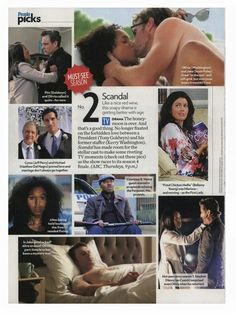 Hey #Gladiators! On this #Scandal-less Thursday People.com names S4 one of their Picks of the Week. What was your favorite moment so far?