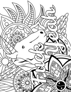 Amazing Adult Swear Word Coloring Pages For Book