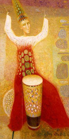 Arunas Zilys, 1953 ~ RESİM-ART Mythic Surrealist painter