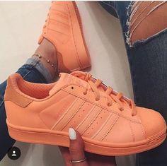 new concept 1f0dd b6445 Image de adidas, shoes, and orange