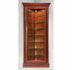 Buy Philip Reinisch Philip Reinisch Color Time Prism   Contemporary Corner  Curio Display Cabinet W Reversible Back At ShopLadder   Great Deals On Curio  ...