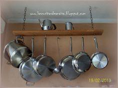 El taller de Anaisa: Colgante para ollas y sartenes