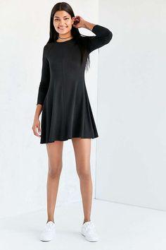BDG Outfield Long-Sleeve Sweatshirt Mini Dress - Urban Outfitters