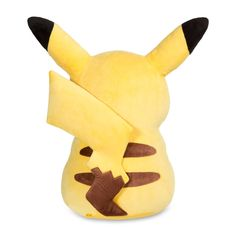 Official Jumbo-sized Pikachu Plush. Over 28 inches tall. Big enough to battle, soft enough to hug! One of the largest Poké Plush at Pokémon Center.