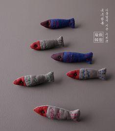 물고기브로치