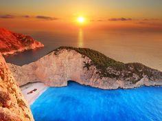 *heartthrob* navagio beach - greece
