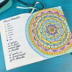 Beautiful Bullet Journal Tracker Ideas... Inspiring!