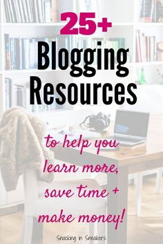 When you're a beginner blogger, it can be hard to sort through all the info out there. This post shares 25+ amazing blogging tips and resources that can help you save time and monetize your blog. Great examples of ways you can actually make money blogging! | blogging tips | blogging for beginners | blogging for money | #blogging #business #smallbusiness #blog #sidehustle #entreprenuer #money #wahm #sahm