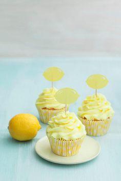 Erfrischende Zitronen-Cupcakes