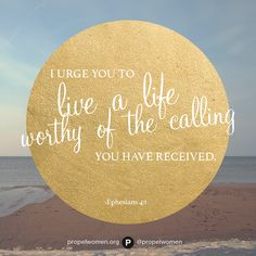Live a life worthy of the calling! ❤️ HE loves us and died for us, and HE rose again for us! We should strive to live our lives for HIM!