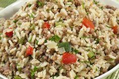 arroz misturado com carne moida - Google Search