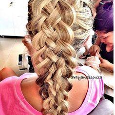 Five strands braid