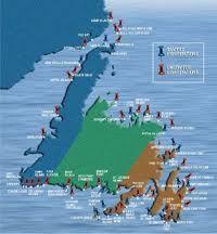 east coast lighthouses map - Google Search | East coast ...