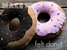 Stelabird: Make It // felt donut