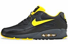 Nike Air Max 90 Anthracite/Black Yellow Neutral Grey