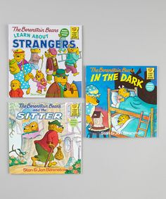 This Berenstain Bears Learn About Strangers Paperback Set by The Berenstain Bears is perfect! #zulilyfinds