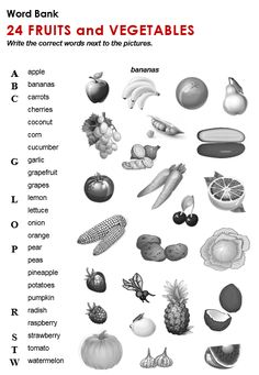 34 Trendy fruit and vegetables esl learning english English Teaching Materials, English Teaching Resources, English Activities, Education English, Teaching Ideas, English Tips, English Lessons, Learn English, English Vocabulary