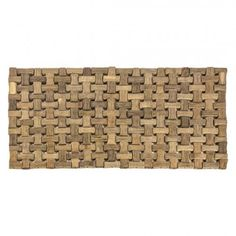 Set of 4 Darcy Bamboo Placemats