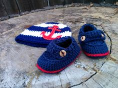 Sailor Set by PortlandCrochet on Etsy