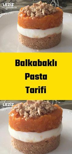 Balkabaklı Pasta Tarifi Dinner Recipes, Dessert Recipes, Desserts, Honey Dessert, Diet And Nutrition, Bon Appetit, Chocolate Cake, Sweets, Cookies
