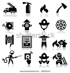 Fire Alarm Icon Stock Photos, Images, & Pictures | Shutterstock