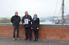 Erste Hafenweihnacht an der Elbe