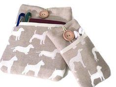 iPad mini 4 case Dogs / Protective iPad mini sleeve / by Driworks