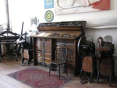 on my want list a type cabinet like this ;)  by The Arm, via Flickr