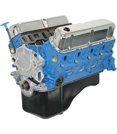 blueprint engines 302ci crate engine | small block ford style | longblock |  iron heads |