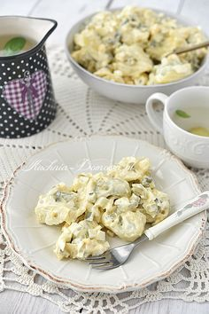Tortellini, Potato Salad, Cauliflower, Potatoes, Healthy Recipes, Vegetables, Ethnic Recipes, Food, Eat