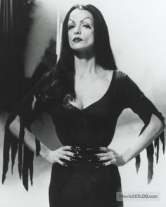 Famous Goth and Vampire Women From TV and Movies - Vampira