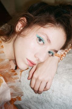 Blue eyes. @thecoveteur