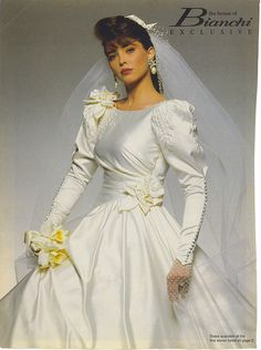 1990's The House Of Bianchi wedding gown
