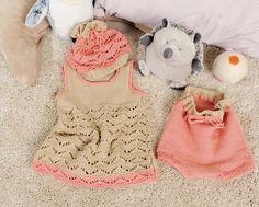 Комплект с платьем и штанишками