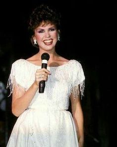 Love this dress. The Osmonds, Marie Osmond, Movie Photo, Hard To Find, Hyde, White Dress, Singer, Actresses, Formal Dresses