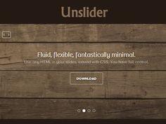 Unslider – Flexible and Responsive jQuery Slider