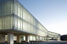 Fritz-Lipmann-Institute, Jena – translucent facade made of PTFE glass mesh fabric - - Temme Obermeier | Experts for Membrane Building