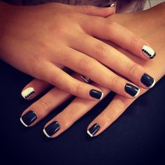 Between the half moons and the stiletto nails, we practically can't choose our next manicure.