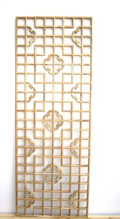 Chinese style wood lattice antique flower window ceiling plaid wood console screen partition cutout US $86.10