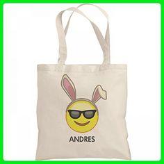 Emoji Easter Bunny Bag Andres: Liberty Bargain Tote Bag - Totes (*Amazon Partner-Link)