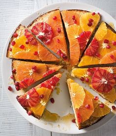 Orange-Scented Almond Torte | This moist, lightly sweetened sponge cake, known as tarta de almendras in Spanish, combines citrus, almonds and olive oil.